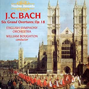 JC Bach: Six Grand Overtures