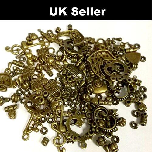 K2 Accessories Charm Pendants 40-80 A0000 - Confezione di ciondoli in bronzo assortiti, 30 g circa