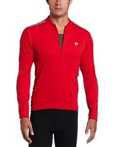 Pearl Izumi Men's Quest Long Sleeve Jersey - True Red, Small