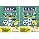 Bioglan SmartKids Omega 3 Brain Formula, 2 x 30ct (2 Months Supply)