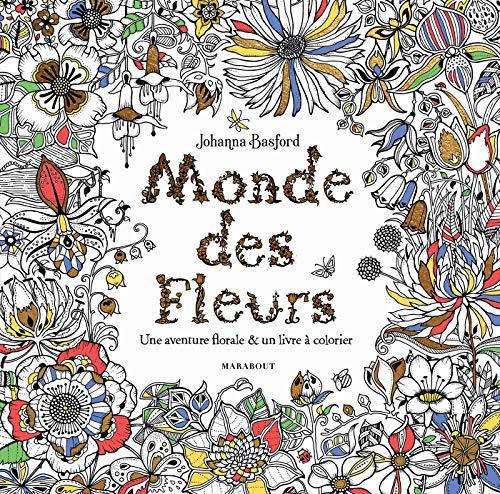Monde des fleurs par Johanna Basford