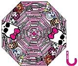 Die besten Monster High Regenschirme - Monster High Regenschirm, bedruckt, Reißverschlüsse, Mädchen, Monster High Bewertungen