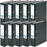 Lever Arch File | ELBA, A4 Paper on Board, Black, Pack of 10