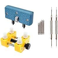 Outil Ouvre Ouvrir Boitier Montre - STAGO 12pcs Reglable Kit Reparation Ouverture Montre Outil avec 8X Acier Inoxydable…