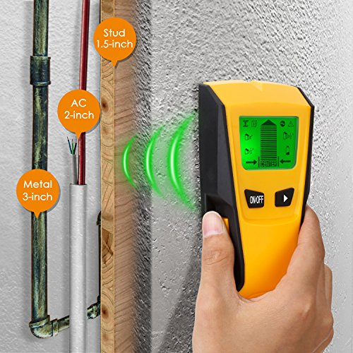 This device what it says and it has a simple ergonomic design for ease of use. It has automatic calibration, which increases accuracy in detection each and every time. The stud detector has three modes of object detection and a decent depth range. The featured LCD screen is incredibly useful not only for detection readings but also for checking things such as calibration and battery charge level. It's good that the product has a 2-year warranty just in case of any fault with the device and their technical team will be happy to help.