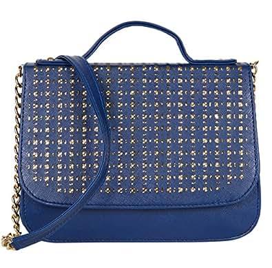 ADISA SL5004 blue women girls party sling bag