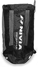 Nivia 783 Polyester Ball Carrying Bag for 9 Balls (Black)