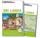 MERIAN live! Reiseführer Sri Lanka: Mit Extra-Karte zum Herausnehmen - Elke Homburg