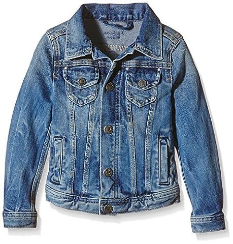 Pepe Jeans Berry - Blouson - Uni - Fille - Bleu (Denim) - FR: 4 ans (Taille fabricant: 4 ans)
