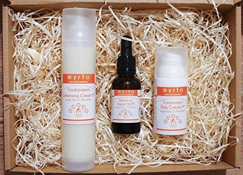 Balancing Day Cream (Bio Traubenkern Gesichtspflege Selection für empfindliche Mischhaut)