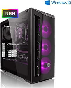 PC-Gaming AMD Ryzen 7 3700X 8x 4.40GHz Turbo • nvidia GeForce RTX2070 Super 8GB • 1000GB HDD • 480GB SSD • 16GB DDR4 3000 • WLAN • Windows 10 Home