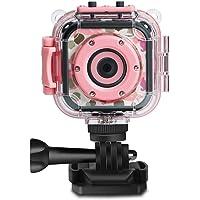 DROGRACE Kids Camera 1080P Digitale Foto- / Videokameras Unterwasser-Actionkamera Wasserdicht 98 Fuß für Kinder mit 1,77…