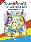 LernSpielZwerge Mal- und Rätselbuch - Buchstaben und Zahlen