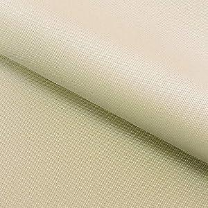 NOVELY® Oxford 210D 05 Creme   Fest Gewebtes Polyester Stoff wasserabweisend robust   anschmiegsam und nachgiebig   Meterware Segeltuch