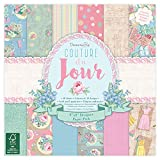 "Dovecraft Couture Du Jour Collection - Paper Pack 8""x8"" (12 Designs, FSC)"