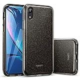 ESR Coque iPhone XR Noir, Coque Silicone Paillette Strass Brillante Bling Bling...