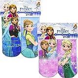 Die besten Disney Mädchen Socken - 4er Pack Socken disney Eiskönigin hohe Qualität Farben Bewertungen