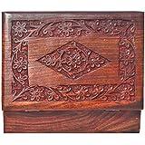 [Sponsored]Nexplora Industries Handmade Wooden Jewellery Box For Women Jewel Organizer (18 * 13 Cm)