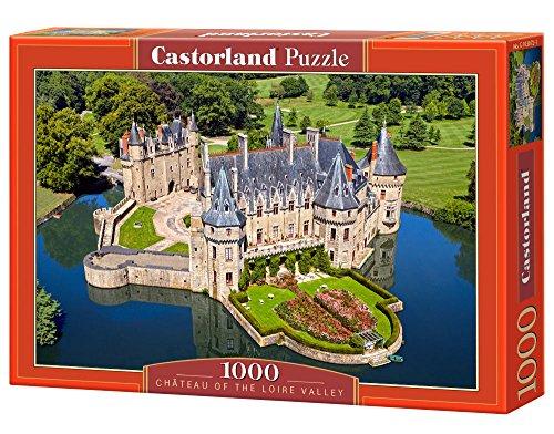 Castorland C-103072-2 - Cháteau of The Loire Valley, 1000, Klassische Puzzle