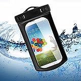 Bestwe Wasserdichte Tasche Samsung Galaxy S4 S2 S3 i9500 i9100 i9300 Touch Overboard Case Hülle Waterproof in Black schwarz