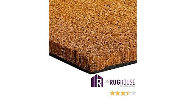 Extreme Tapis en peluche fait de fibre de noix coco naturel naturel 5/tailles disponibles-- 100cm x 120cm
