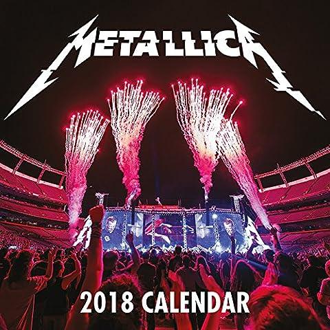 Metallica Official 2018 Calendar