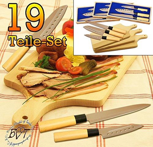 4x Coltelli da cucina, coltello da chef