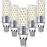 Lampadine LED E14 Wowatt Luce Bianca Fredda 6000K 16W 1600LM Equivalente a 100W 120W RA80 Lampade Mais Per Lampadario Cucina