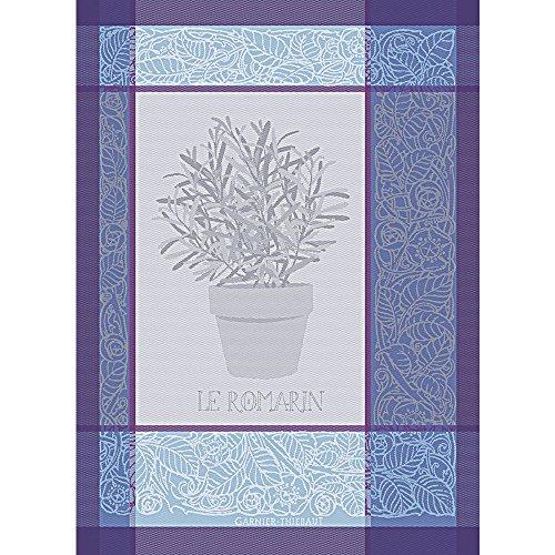 Garnierthiebaut strofinaccio, cotone, indaco, 56x 77cm