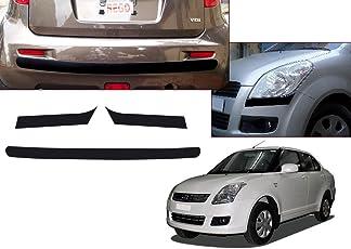 Autopearl Car Bumper Protector for Maruti Suzuki Swift Dzire (Set of 4)