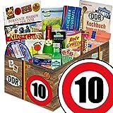 Geschenkset Spezialitäten | Ostalgie Set XXL | Zahl 10 | Geschenkkorb Mutti