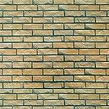 VNEIRW Fototapete selbstklebend Steinoptik Mauerwerk Kieselsteine Decor Tapeten, Wandtapete klebend, Klebefolie, Dekofolie, Wandaufkleber, 45x100cm (B)