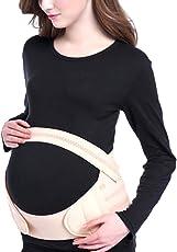 NF&E Women Pregnancy Maternity Waist Abdomen Back Support Belt Tummy Belly Waist Brace Band Xl