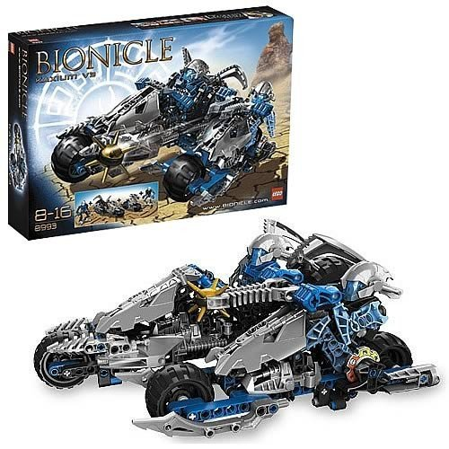 Bionicle Kaxium V3 LEGO 8993 - Fahrzeug 251 Teile (Lego Bionicle Teile)