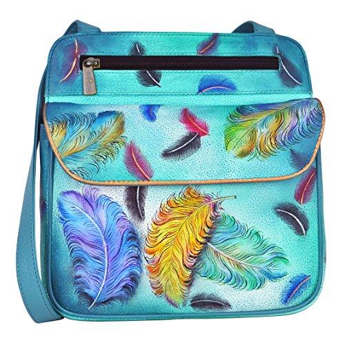 anuschka-dipinto-a-mano-in-pelle-luxury-530-multi-tasca-da-viaggio-crossbody-floating-feathers-multi