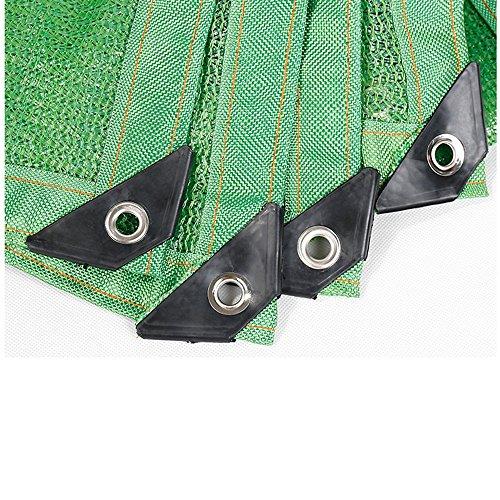 HUO Soleil Bâche D'ombre Net Balcon Isolation Réseau Vert (Couleur : Green, Taille : 4 * 8m)