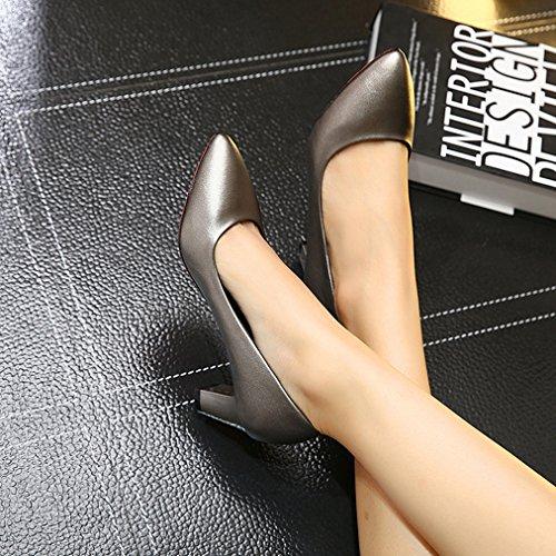 XTIAN - Scarpe con Tacco Donna Waffe Farbe