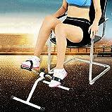 Imposes Senioren Fitnessgerät Bewegungstrainer Verstellbare Pedaltrainer Mini Bike Heimtrainer Büro zuhause Fahrradtrainer Arm- und Beintrainer Trainingsgerät Trainer für Hüfte, Knie, Arme und Beine