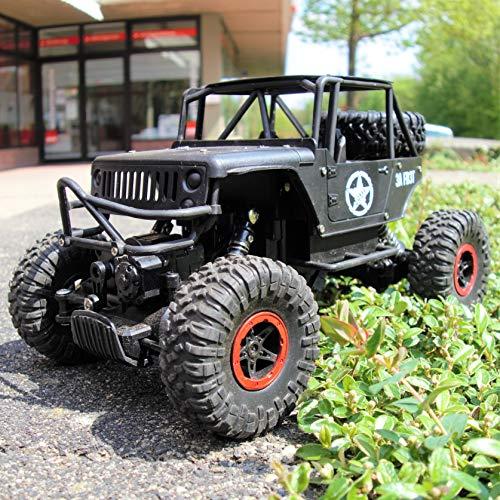 Rock Crawler Ferngesteuertes RC Auto mit Akku Offroad Spielzeug 27cm lang 699-113