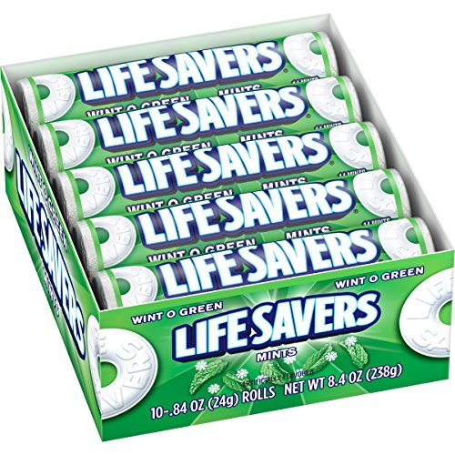Lifesavers Wint-O-Green (10x24g)
