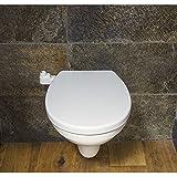Saniclean - Abattant de toilette siège WC...