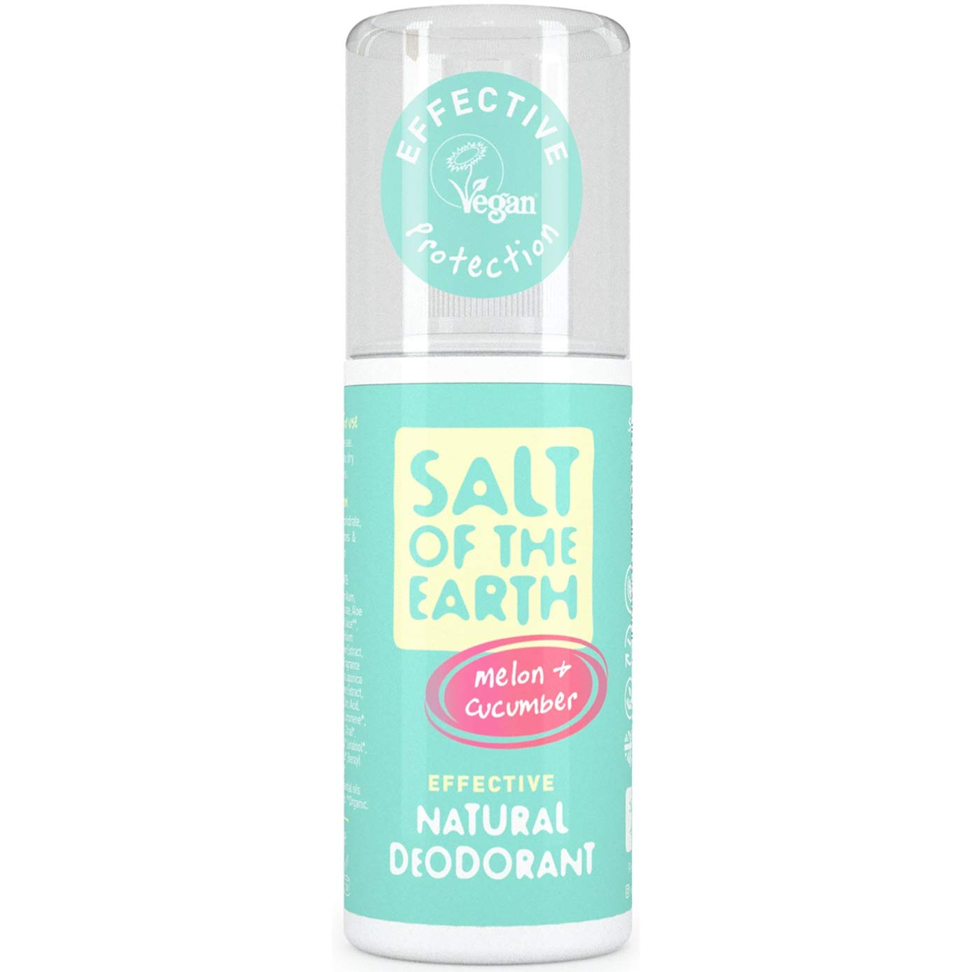 Salt of the Earth Melon and Cucumber Natural Deodorant Spray (100ml)