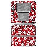 """Nintendo 2DS Designfolie """"Hawaii Rot"""" Skin Aufkleber für 2DS"""