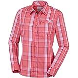 Columbia Silver Ridge 2.0 Plaid Long Sleeve Camisa para Mujer. Mujer