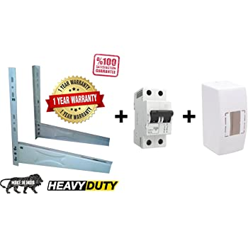 Monitor split ac stand heavy duty air conditioner outdoor unit saavre fix it ac standheavy duty air conditioner outdoor unit mounting bracket with mcb and mcb box fandeluxe Images