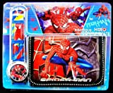 - 61QugoHZhXL - SPIDERMAN WATCH AND WALLET SET FOR BOYS [Styles May Vary]