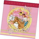 Bibi & Tina 33x33cm, 12er Set Partyservietten, Papier, Mehrfarbig, 17 x 17 x 1,7 cm, 12-Einheiten