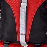 changjunwei Multifuncional excursión Camping Senderismo Acampada Viaje activiadad al Aire Libre Bolso de Alpinismo de Gran Capacidad para Turismo Exterior Deportivo Ligero, Rojo