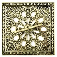 Solid Brass Air Vent Cover with adjustable