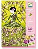 Djeco Dresses Glitter Board Craft Kit